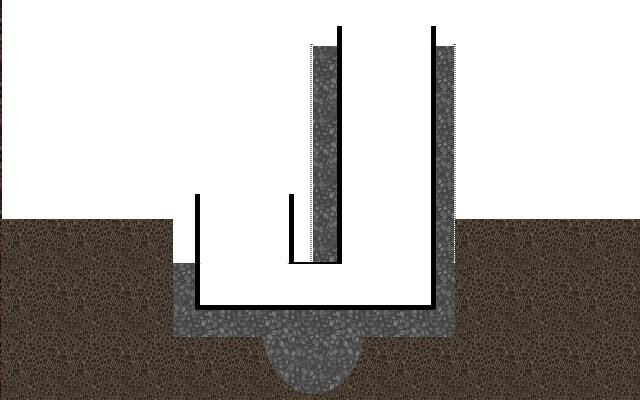 in ground rocket stove DIY design